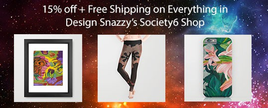 15% off + Free Shipping on Everything in Society6 Store