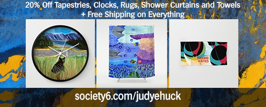 20% off Off Tapestries, Clocks, Rugs, and More in Society6 Store