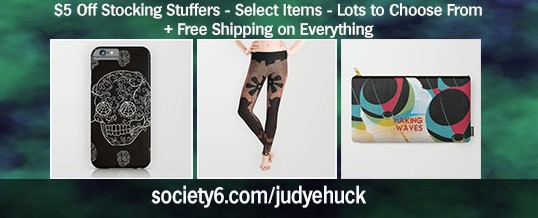 $5 off Stocking Stuffers + Free Shipping in Society6 Store