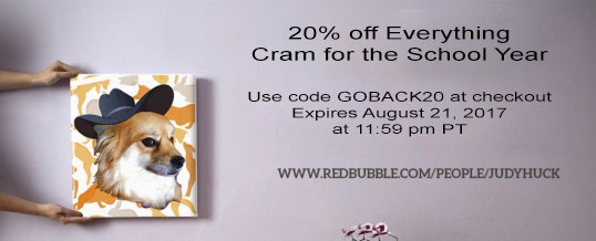 Cram for the School Year – 20% off Everything